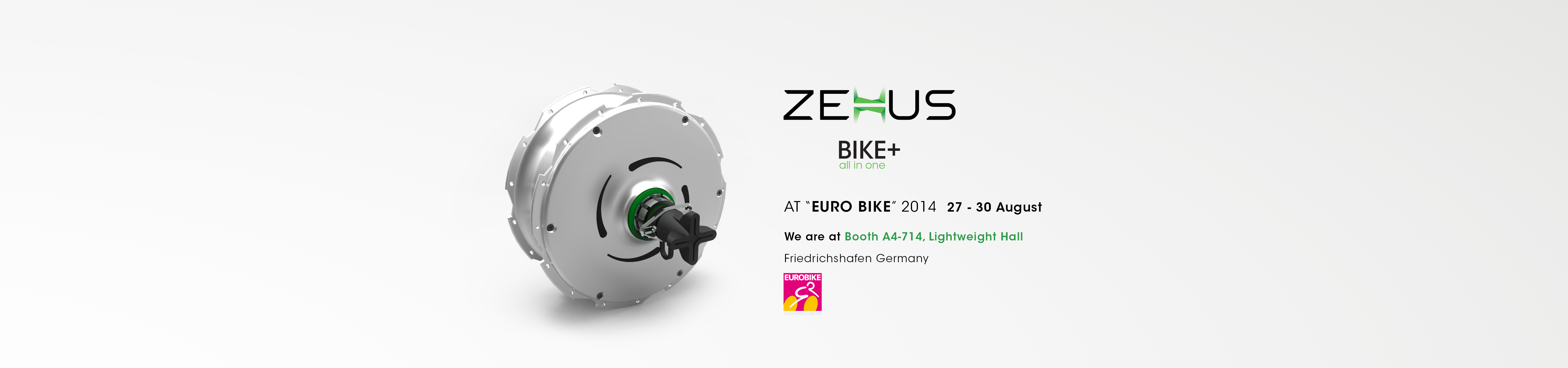 ZEHUS Bike+ all in one – Eurobike